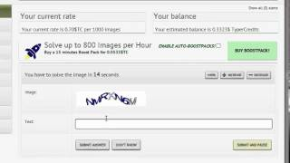 How To Do CAPTCHA Entry Work