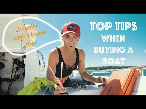 TIPS BEFORE YOU BUY A BOAT! #41 trawler life and an epic drone catch!