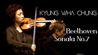 Kyung Wha Chung plays Beethoven violin sonata No. 7