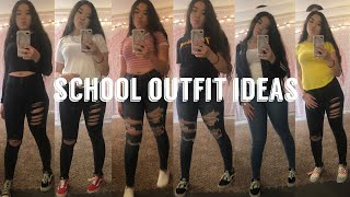 BACK TO SCHOOL OUTFIT IDEAS 2019 (pt.2) *baddie On A Budget😍