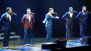 The Overtones-Can't take my Eyes off you