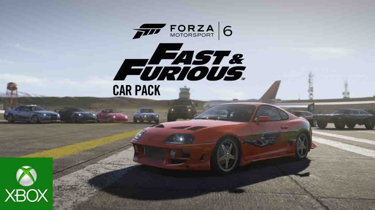 Collection de voitures Fast & Furious pour Forza Motorsport 6
