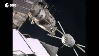 Docking of ATV Georges Lemaître to ISS