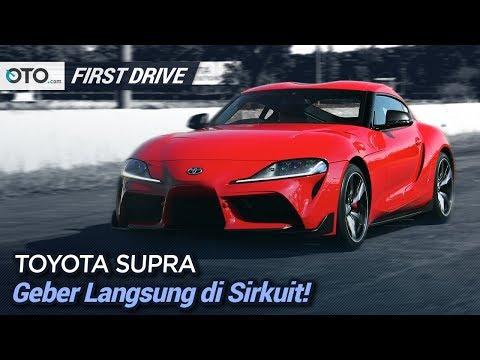Toyota Supra GR Sport | First Drive | Geber Langsung di Sirkuit | OTO.com