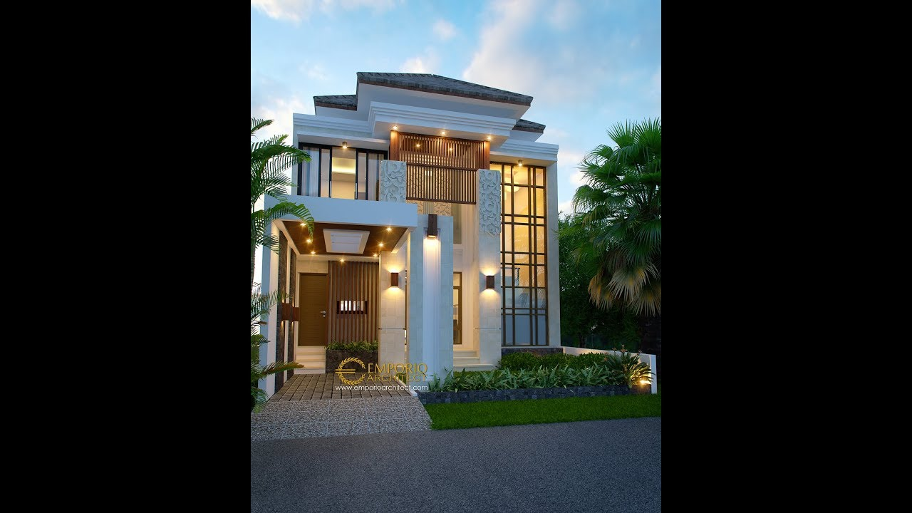 Video 3D Beverly Park Villa Bali House 2 Floors Design Type A6 - Batam