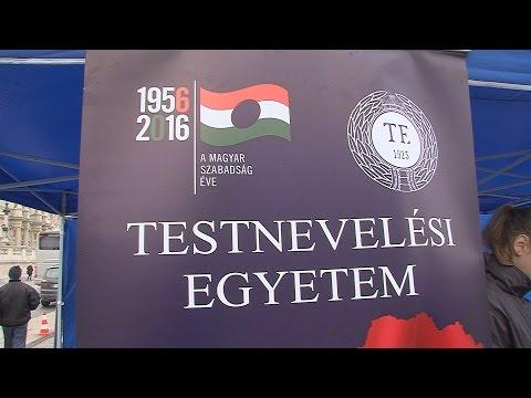 Gyertyagyújtás Mansfeld Péter szobránál - video preview image