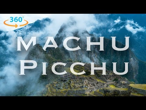 Machu Picchu in 360 (8K) | Exploring Peru in Virtual Reality