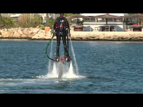VIDEO  Amazing Water Powered Rocket Boots Will Send You Soaring Like a    Rocket Powered Shoes