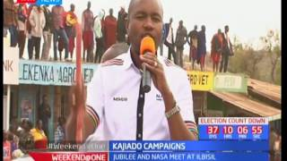 NASA leaders calls on Kajiado's residents to vote out Jubilee