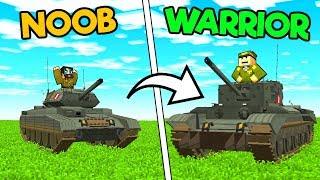 Minecraft BRITISH TANKS MOD / FIGHT WITH WAR MACHINES !! Minecraft