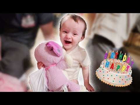 Baby Shocked At Present! (Cute Reaction)