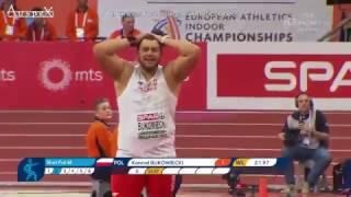 Konrad Bukowiecki 21.97m Belgrade 2017 WL