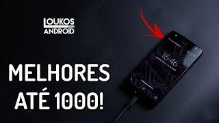 5 MELHORES Smartphones até 1000 REAIS em 2018 vendidos no BRASIL!