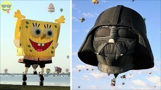 Funny And Creative Special Shaped Hot Air Balloons