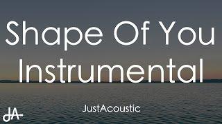 Gambar cover Shape Of You - Ed Sheeran (Acoustic Instrumental)