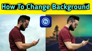Ps Touch | How To Change Background  Best Photoshop Touch Tutorial Hindi {Mobile}