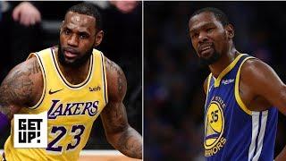 LeBron James and Anthony Davis vs. Kevin Durant and Kawhi Leonard: Jalen Rose picks a side   Get Up!