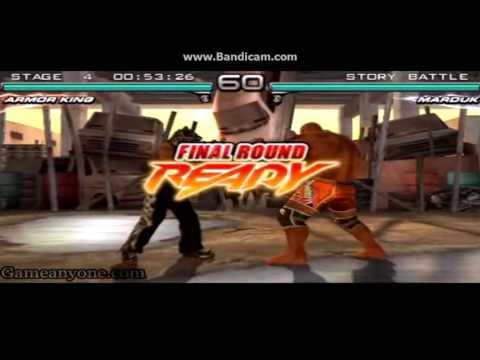 Tekken 5-6: King, Marduk & Armor King True Story - смотреть