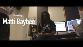 Matti Baybee - VLOG (Studio Session) | Shot By @SupremoFilms