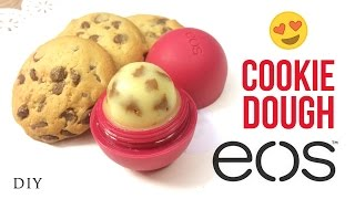 DIY EOS Cookie Dough Lip Balm! You'll be surprised at the SECRET INGREDIENT used in this!