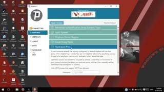 How to run Psiphon in Laptop , Bypass System proxy through an open server