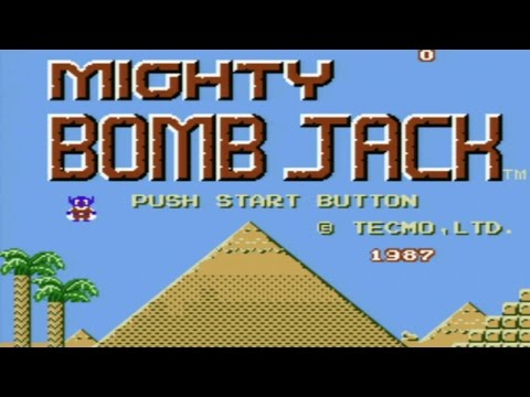 Mighty Bomb Jack Wii