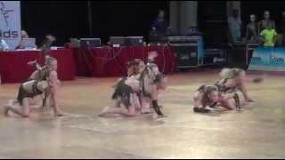 "CrossDance,  SP IDO Sardinie 2015, show dance small group junior ""Vzpomínka na Afriku"""