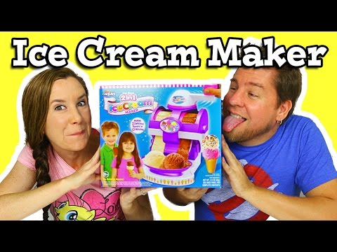 Real 2 in 1 Ice Cream Maker By Cra-Z-Art Review