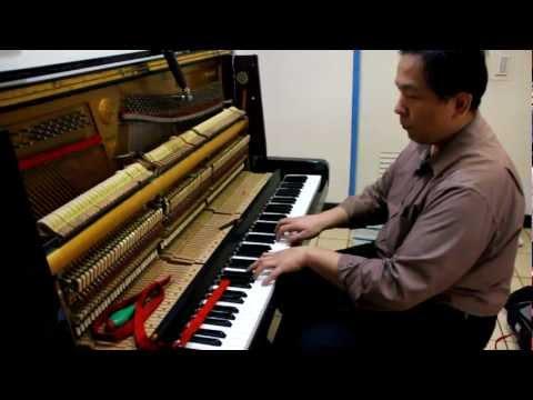 調音後音準測試 – 建中鋼琴