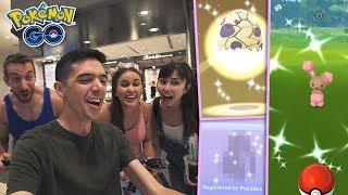 SHINY BUNEARY + NEW SHINY EGG HATCH & POKÉDEX ENTRY IN SINGAPORE (Pokémon GO Eggstravaganza 2019)