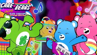 Care Bears - Dance Like There's No One ! | NEW Care Bears Unlock The Music | Dance Songs For Kids