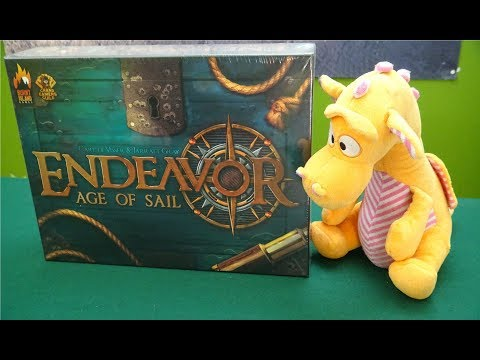Endeavor: Age of Sail - Unboxing
