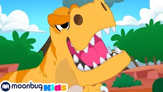 Dinosaurs & the Magic Time Machine | Morphle | Jurassic Tv | Dinosaurs and Toys | T Rex Family Fun