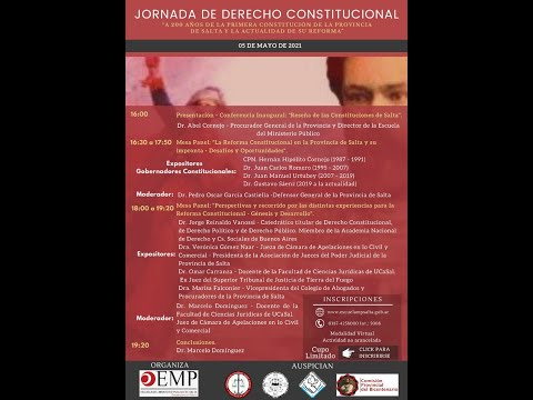 Video: Jornada de Derecho Constitucional