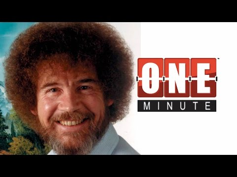 Bob Ross the Happy Painter - Epic Artist Series - One Minute History