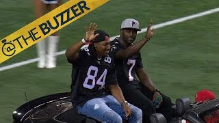 Michael Vick receives standing ovation at Georgia Dome   @TheBuzzer   FOX SPORTS