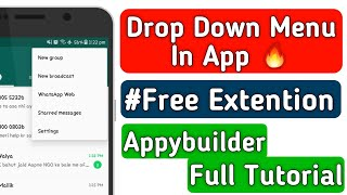 Descargar MP3 de Appybuilder Extension gratis  BuenTema Org