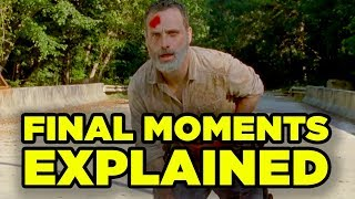 WALKING DEAD Rick Final Episode Explained! Details You Missed!