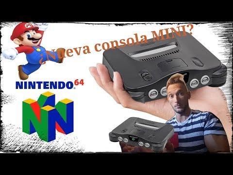 Nintendo 64 MINI una nueva consola MINI de Nintendo-games foxx bt