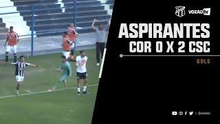 [CATEGORIAS DE BASE] Corinthians 0 X 2 Ceará