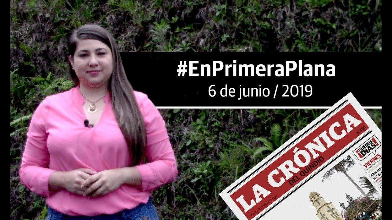 En Primera Plana: lo que será noticia este viernes 7 de junio