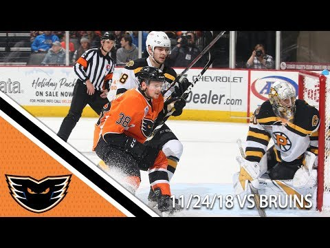 Bruins vs. Phantoms | Nov. 24, 2018