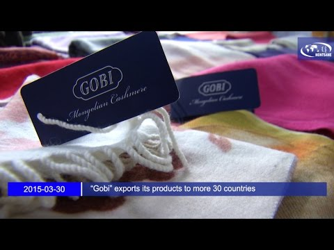 """""""Gobi"""" exports its products to more 30 countries"""