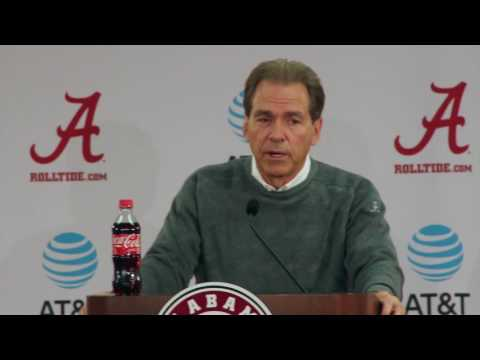 Nick Saban turns focus to Iron Bowl - full press conference