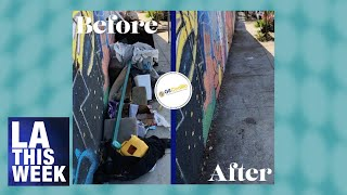 LA This Minute - Trash, Graffiti, Bulky Items, call 311 or Use the MyLA 311 App