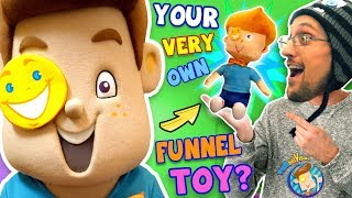 FUNnel Boy Plushy Toy 4 Christmas! (FUNnel Vis Fam Collectible)