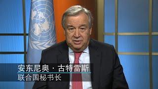 联合国秘书长古特雷斯——让我们把2017年打造为和平之年