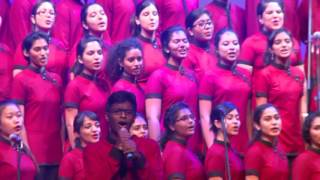 Christ University Choir performs Coloured People by D.C Talk