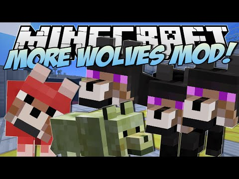 Minecraft | MORE WOLVES MOD! (Three Headed Wolf?!) | Mod Showcase