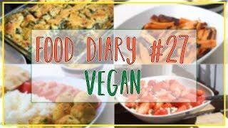 FOOD DIARY #27 - vegan - 4 volle Tage - REZEPTINSPIRATIONEN